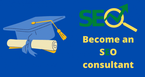 How to become an seo consultant?