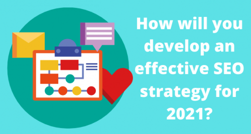 How will you develop an effective SEO strategy for 2021?
