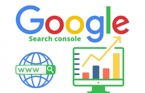 What is the search console used for?